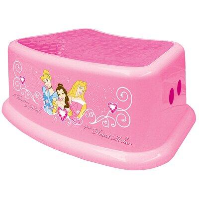Ginsey Disney Princess Step Stool Amp Reviews Wayfair