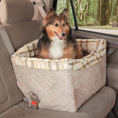 Solvit Deluxe Jumbo Tagalong™ On-Seat Dog Booster Seat