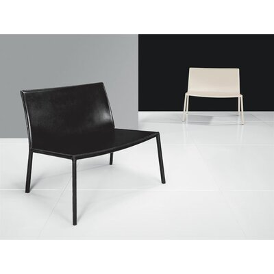 Luxo by Modloft Sanctuary Leather Arm Chair