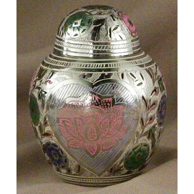 Star Legacy Funeral Network Small Lotus Heart Pet Urn