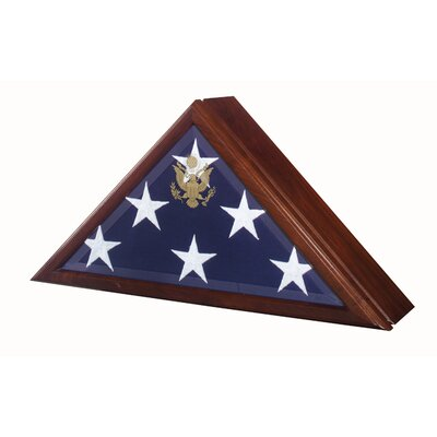 Star Legacy Funeral Network Eternity Flag Case Urn