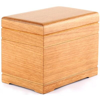 Star Legacy Funeral Network Oak Celestial All Natural Wood Urn