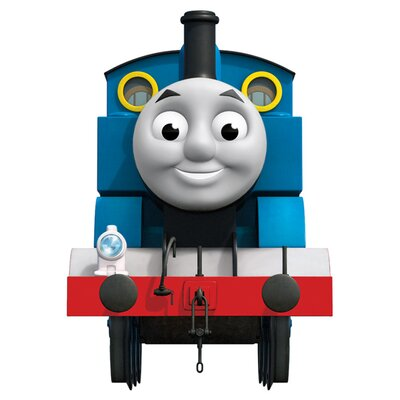 Room Mates Thomas the Tank Engine Peel and Stick Giant Wall Decal