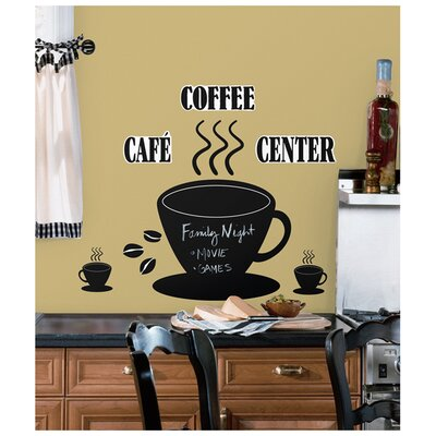 Room Mates Room Mates 22 Piece Deco Coffee Cup Chalkboard Wall Decal Set