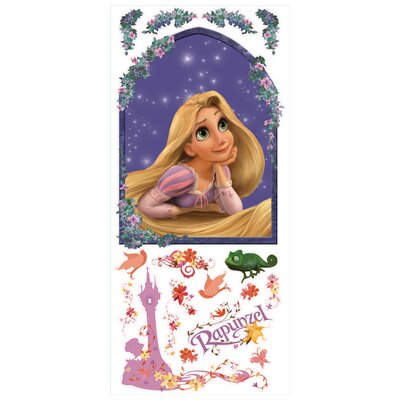 <strong>Room Mates</strong> Tangled Rapunzel Giant Wall Decal