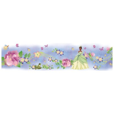 Room Mates Licensed Designs Princess and Frog Wall Border