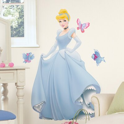 Room Mates Licensed Designs Cinderella Giant Wall Decal