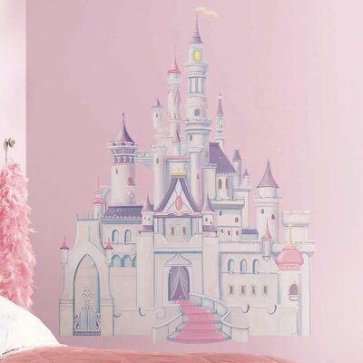 Room Mates Licensed Designs Disney Princess Castle Wall Decal