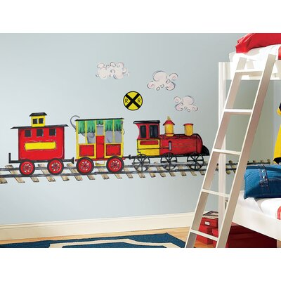 Room Mates Megapacks 57 Piece All Aboard Wall Decal Set