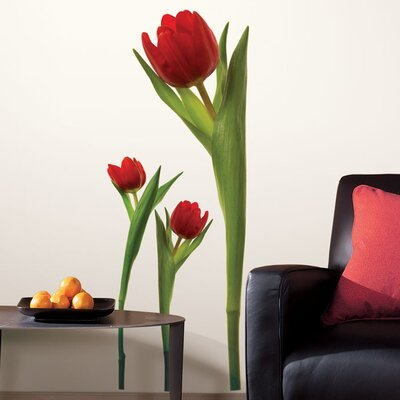 Room Mates Room Mates Room Mates Deco 3 Piece Tulip Wall Decal Set