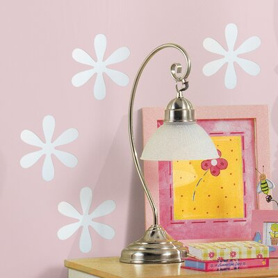 Room Mates Wall Mirrors Flower Small Wall Decal