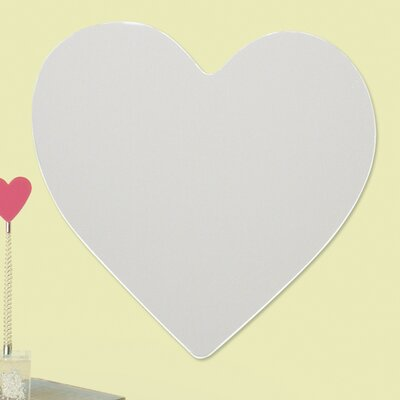 Room Mates Wall Mirrors Heart Large Wall Decal