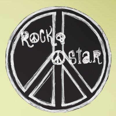Room Mates Megapacks Rock-n-Roll Wall Decal