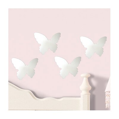 Room Mates Wall Mirrors Butterfly Small Wall Decal
