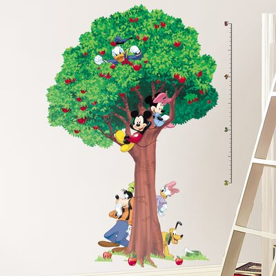 Room Mates Licensed Designs Mickey and Friends Growth Chart Wall Decal