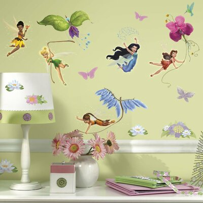 Room Mates Licensed Designs Disney Fairies Wall Decal