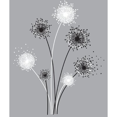 Room Mates Graphic Dandelion Giant Wall Decal