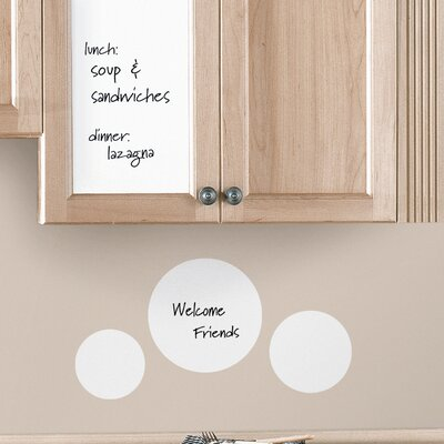 Room Mates Deco Dry Erase Sheet Wall Decal