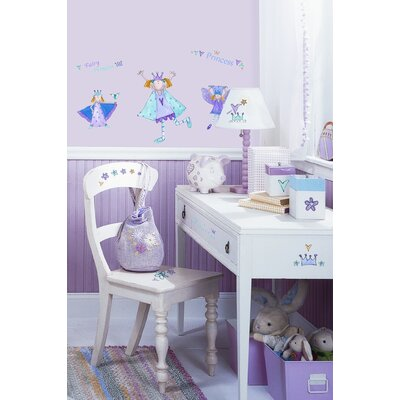 Room Mates Fairy Princess Peel and Stick Wall Sticker