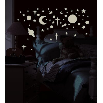 Room Mates Celestial Peel and Stick Wall Sticker