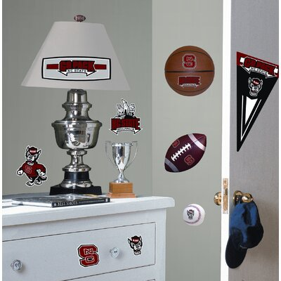 Room Mates North Carolina State University Peel and Stick Wall Decal