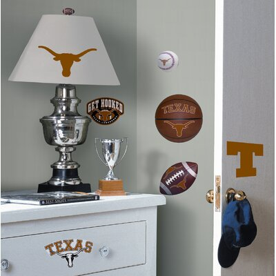 Room Mates Texas Longhorns Peel and Stick Wall Decal