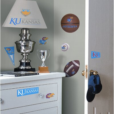 Room Mates University of Kansas Jayhawks Peel and Stick Wall Decal