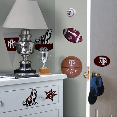 Room Mates Texas A and M Peel and Stick Wall Decal