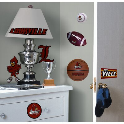 Room Mates University of Louisville Peel and Stick Wall Decal