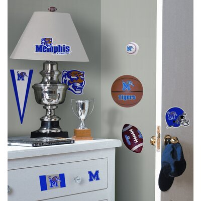 Room Mates University of Memphis Peel and Stick Wall Decal