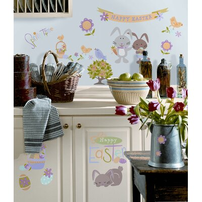 Room Mates Easter Peel and Stick Wall Sticker