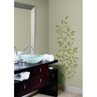 Room Mates Leaf Scroll Peel and Stick Wall Decal