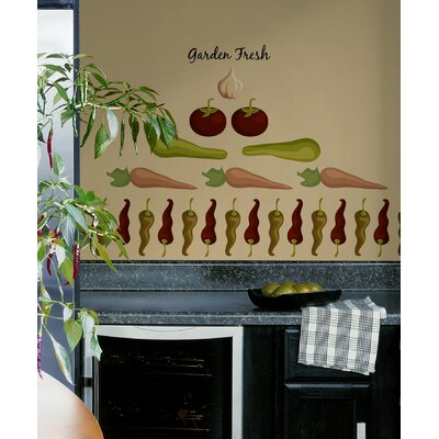 Room Mates Garden Fresh Peel and Stick Wall Decal