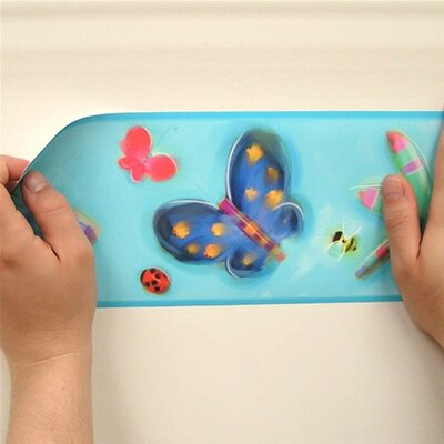 Room Mates Studio Designs Jelly Bugs Peel and Stick Wallpaper Border