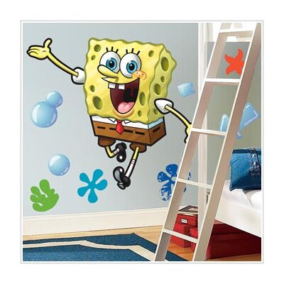 Room Mates Favorite Characters Nickelodeon SpongeBob SquarePants Giant Wall Decal