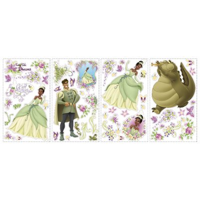 Room Mates Licensed Designs The Princess and The Frog Wall Stickers
