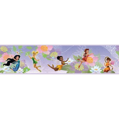 Room Mates Licensed Designs Disney Fairies Wall Border