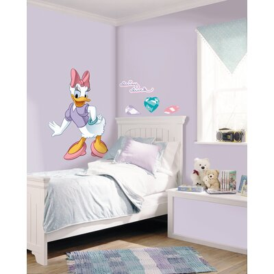 Room Mates Licensed Designs Daisy Duck Peel and Stick Giant Wall Decal