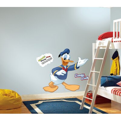 Room Mates Licensed Designs Donald Duck Peel and Stick Giant Wall Decal