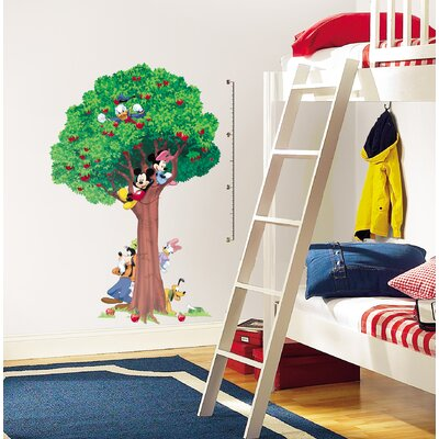 Room Mates Licensed Designs Mickey and Friends Peel and Stick Growth Chart