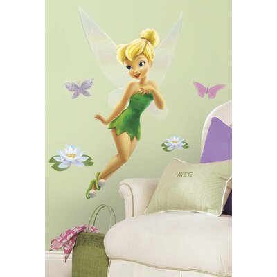 Room Mates Licensed Designs Tinker Bell Giant Wall Decal