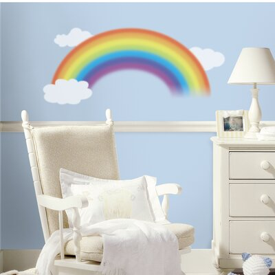 Room Mates Over The Rainbow Wall Decal