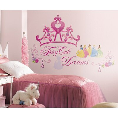 Room Mates Disney Princess Crown Giant Wall Decal