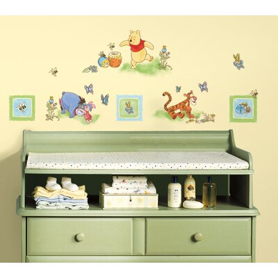 Room Mates Winnie The Pooh Toddler Wall Decal
