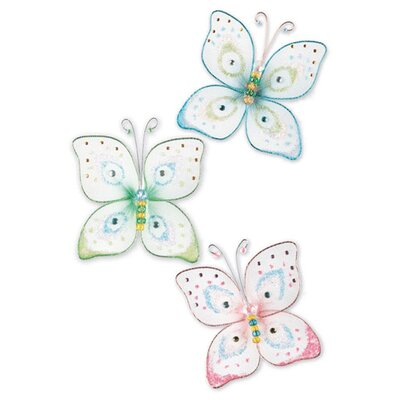 Room Mates Butterfly Kisses Wall Charm