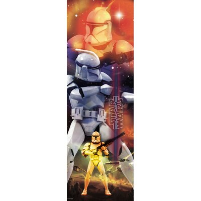 Room Mates Star Wars Clone Trooper Panel