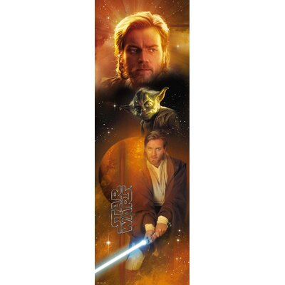 Room Mates Star Wars Obiwan Panel