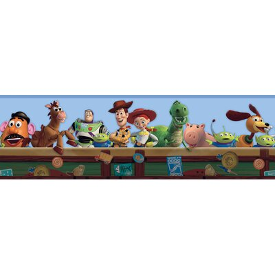 Room Mates Toy Story Border in Blue