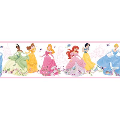 Room Mates Dancing Princess Border in White Background