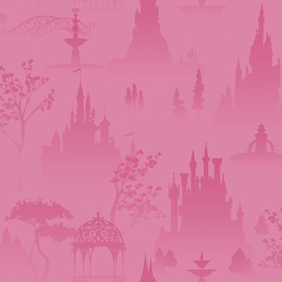Room Mates Scenic Princess Toile Wallpaper